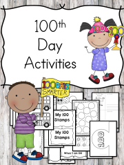100th Day lesson activities - Make learning fun on your 100th day of school!