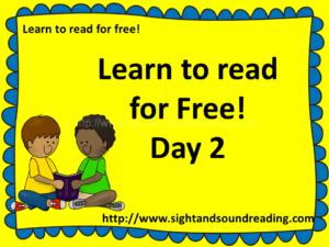 Learn to read for free! Free reading resources can be found at https://www.sightandsoundreading.com///newsite