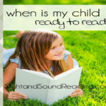 Reading Readiness: When is my child ready to read?