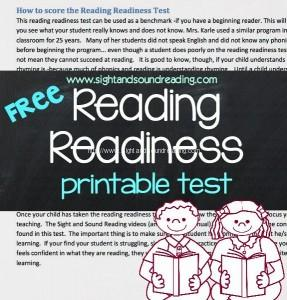 Reading Readiness: What is it? What are the skills you need? What activities help you improve reading readiness? Free reading readiness assessment included.