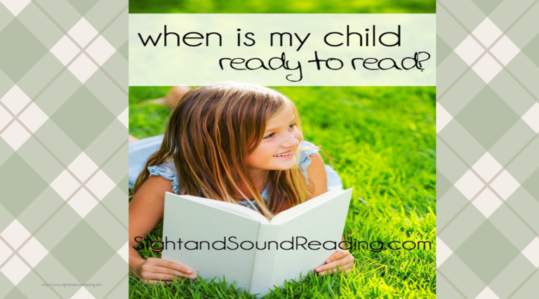 When is my child ready to read?