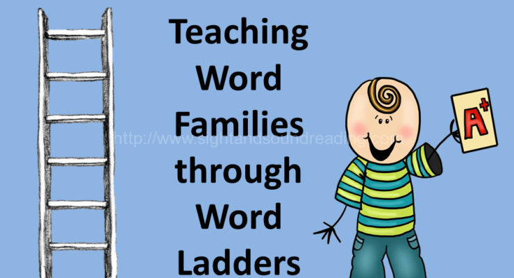 Teaching Word Families through Word Ladders