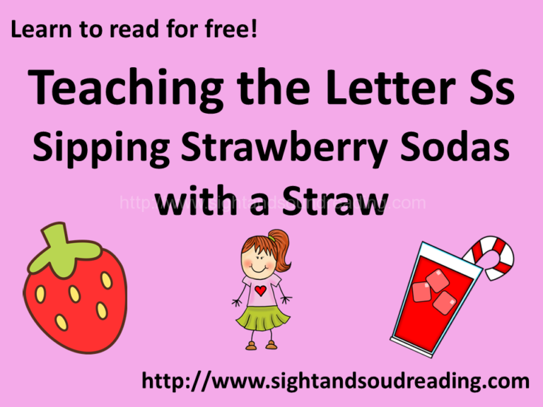 Sipping Strawberry Sodas with a Straw