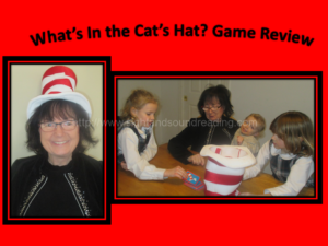 What's in the cat's hat game review