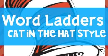 Word Ladders, Spelling, and Writing Your Name -Cat in the Hat Style