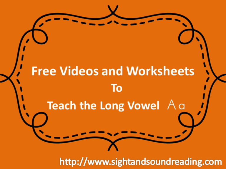 Help struggling readers learn phonics:  The short a sound