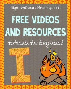 Learn to read! Long I Videos to explicitly teach reading and phonics.