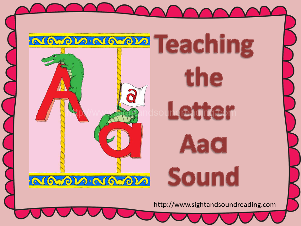 Teaching the Short Aa Letter Sound