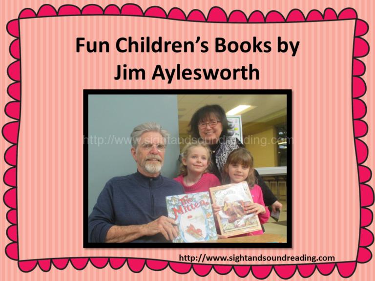 Great books by Children's Author Jim Aylesworth