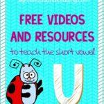 The Short U Sound:Free Videos to teach Phonics