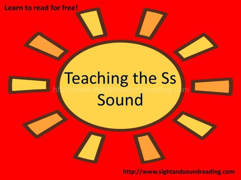 """The """"Ss"""" Game -Teaching the letter Ss"""