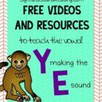 Vowel Y makes the E sound:Free Videos to teach Phonics