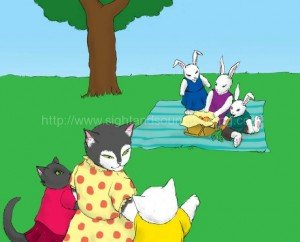 Animals having a picnic: emergent reader, how to read, remedial reading instruction, phonics tutorial, teaching aides, how to read, phonics lessons, tutor to learn to read,