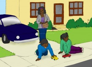 children playing with cars: abc, learning aids, children's education, free, phonics activities, reading skills ladders, phonics program for struggling readers, interactive books, Help your child to read in 15 minutes/day, children,