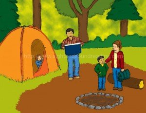 Family camping:  interactive books,  how to teach phonics to struggling readers, explicit phonics instruction,  teaching, teaching letter sounds, reading vocabulary, emergent reader, how to teach reading,  teaching aides, learning games,