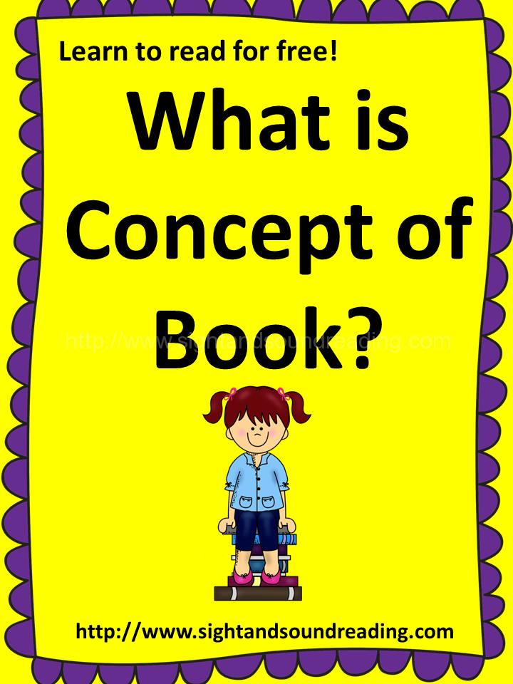 What is concept of book?
