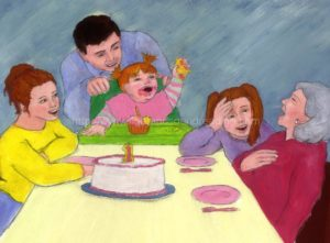Family birthday party: educational games, reading help for sensory processing disorder, how to teach sight words to struggling readers, learning learning to read, reading practice, word families, children's education,