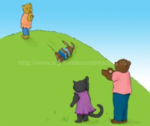 Bear and rabbit rolling down the hill: reading readiness test, how to teach phonics to struggling readers, phonemic awareness, education, educators, phonics, tutor for reading, reading, teaching aids, learning to read, phonics activities, ABC, reading techniques,