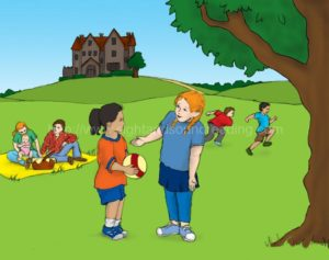 children at a picnic: reading, interactive learning, practice reading, education, free reading lessons, phonics reading tutor, reading techniques, electronic books, phonics lessons, teaching reading in 15 minutes/day, language arts,