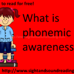 What is phonemic awareness? Why is it important?