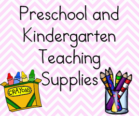 Preschool teaching supplies: Great products for classroom or home