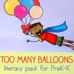 Picture Book Activity for Too Many Ballloons by Catherine Matthias