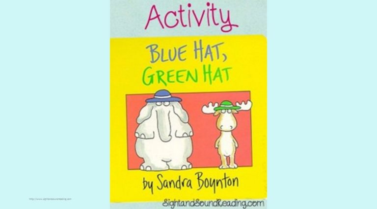 Blue Hat, Green Hat Activity