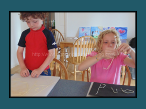 Noodle Letters and Cream Sauce. - Fun activity to help reinforce letters and Sight Words. More beginning reading resources can be found at https://www.sightandsoundreading.com///newsite #kindergarten #homeschool #strugglingreader