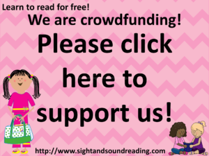 Sight and Sound Reading is crowdfunding. Come support us, please!