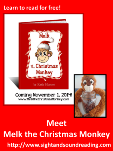 Meet Melk the Christmas Monkey. He will teach your children about God this Christmas.