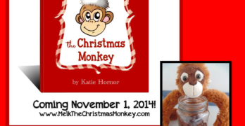Meet Melk the Christmas Monkey