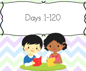120 days to teach your child to read.