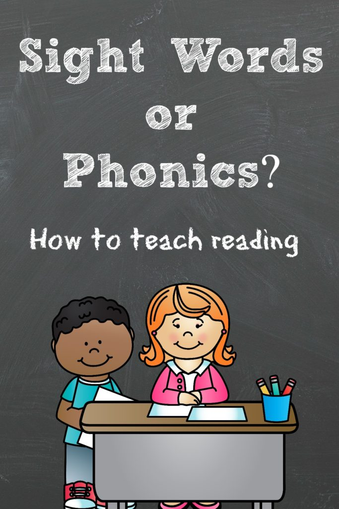 Sight Words or Phonics? How to teach reading. See how our free reading program walks you through the steps to helping your child or struggling student, learn to read.