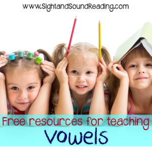 Free resources for teaching the vowels:  Free videos that explicitly teach children to sound out words, write them.  Great for teaching spelling, phonics, handwriting, writing and more!