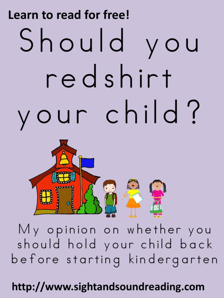 Should I redshirt?