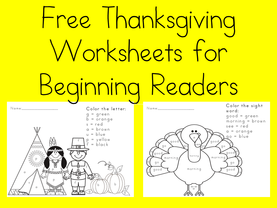 It is an image of Crafty Printable Thanksgiving Worksheet