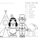 Free Thanksgiving Worksheet for Kids. Visit https://www.sightandsoundreading.com fore more free worksheets.
