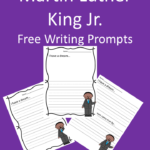 Free Martin Luther King Holiday writing prompts. Help your students learn about this hero in United States history through this writing prompt geared for kindergarten through second grade.