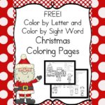 Worksheets for Kids:  Christmas coloring
