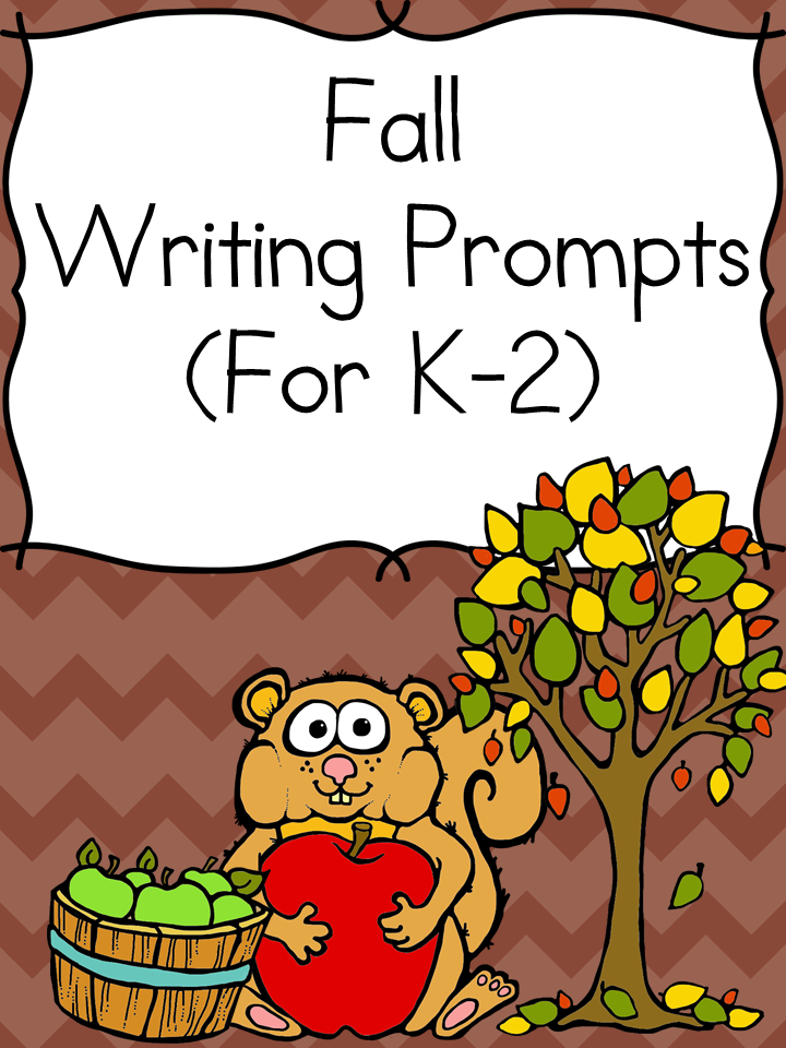 Halloween Writing Prompts -For kindergarten/1st/ 2nd grade