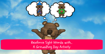 Groundhog Day Activity for Kindergarten. - great for reinforcing sight words.