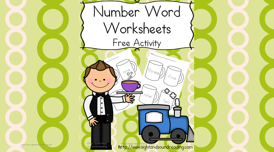 Number Word Worksheets Hot Cocoa Fun – Number Word Worksheets
