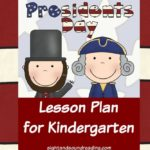 President's Day Lesson Plan for Kindergarten