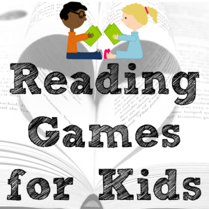 Reading Games for Kids: 10 suggestions of websites, apps, and active games.