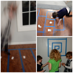 Active games to encourage Reading Readiness. - get those preschool children moving!