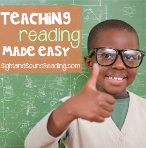 Teaching Reading Made Easy!