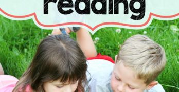 How to encourage Reading: One suggestion that your child will love.