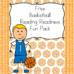 Reading Readiness worksheets with a basketball theme!