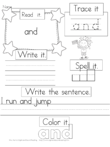 word sight Words Sight Sound Karle's Sight Preschool  worksheet and   Reading big Mrs.