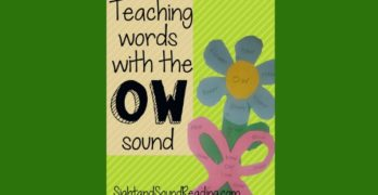 Words with 'ow' sound